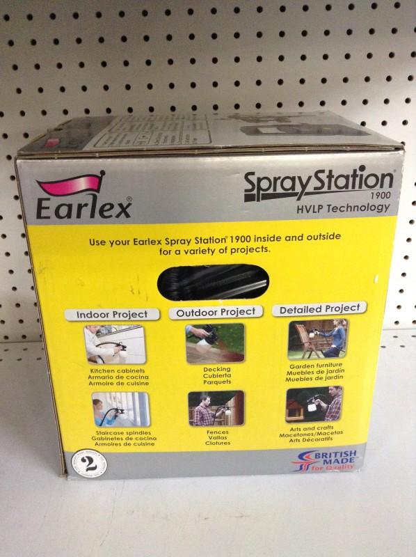 EARLEX Spray Equipment 1900