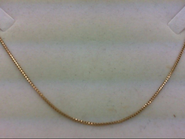"18"" Gold Chain 14K Yellow Gold 4.4g"