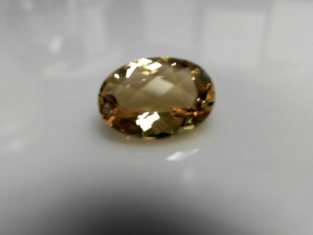 8.27cts Light Topaz Oval Cut Stone