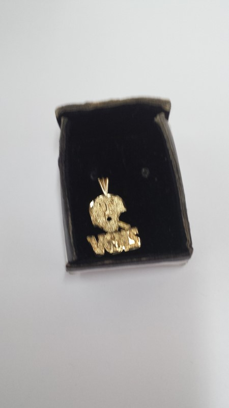 Gold Charm 10K Yellow Gold 1.04g
