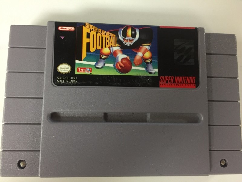 Super Play Action Football (Nintendo Entertainment System NES) CART ONLY