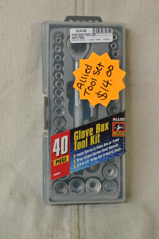 40pc Glove Box Tool Set