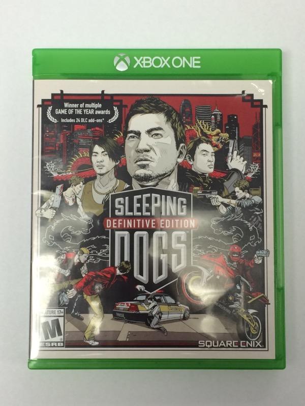 Sleeping Dogs: Defintive Edition - (Microsoft Xbox ONE, 2015)