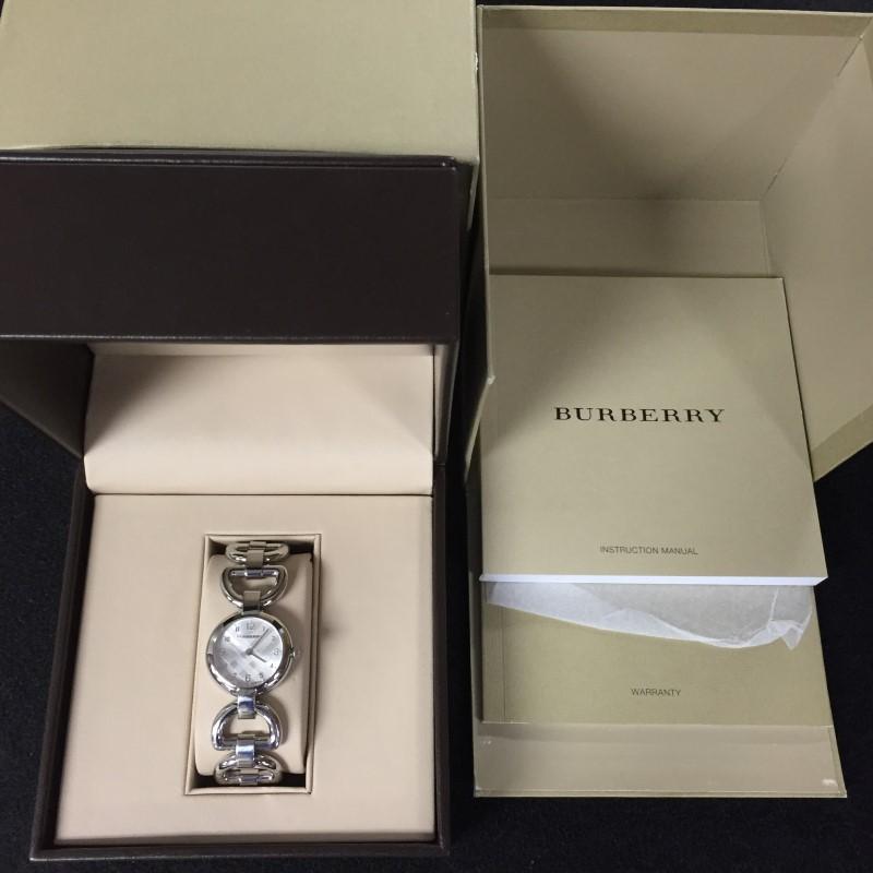 BURBERRY BU5400 SIGNATURE LADIES WATCH - STAINLESS STEEL