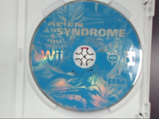 Alien Syndrome (Nintendo Wii, 2007) Disc Only