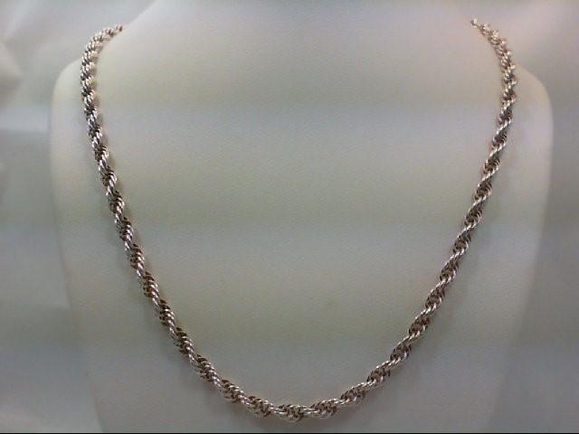 "18"" Silver Chain 925 Silver 9.9g"