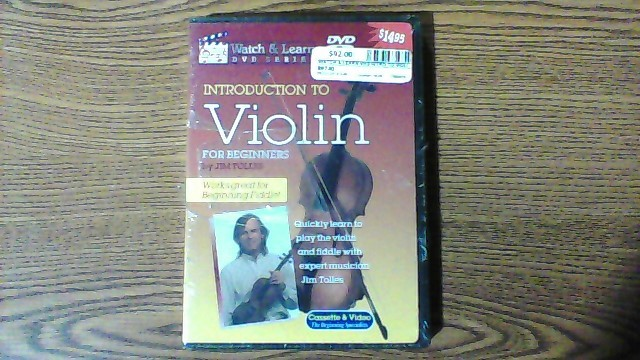 WATCH & LEARN DVD INTRO TO VIOLIN
