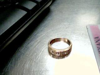 Gent's Diamond Fashion Ring 3 Diamonds .03 Carat T.W. 10K Yellow Gold 3.3g