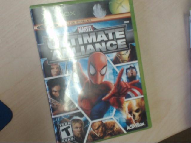 XBOX MARVEL ULTIMATE ALLIANCE