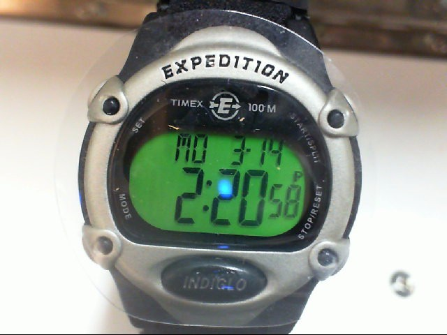 TIMEX Gent's Wristwatch INDIGO EXPEDITION