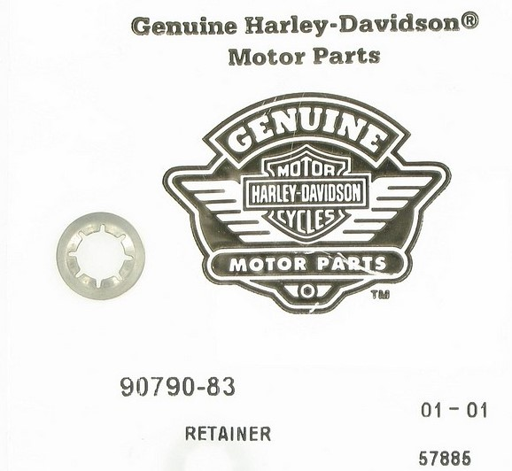 HARLEY DAVIDSON 90790-83, NUT FOR BAG PIN