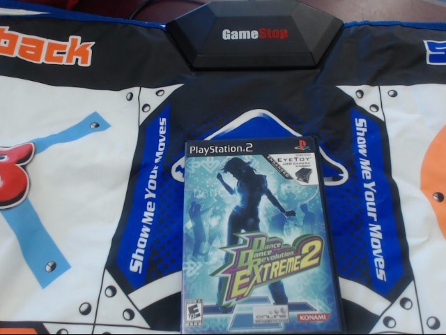 GAME STOP PS2 DANCE PAD W/1GAME