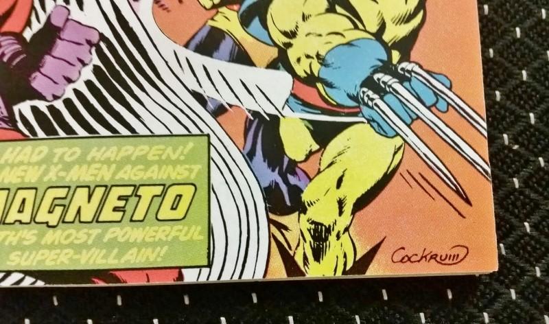 """X-Men Vol. 1 #104 Apr. 1977 """"The Gentleman's Name is Magento"""" 30c"""