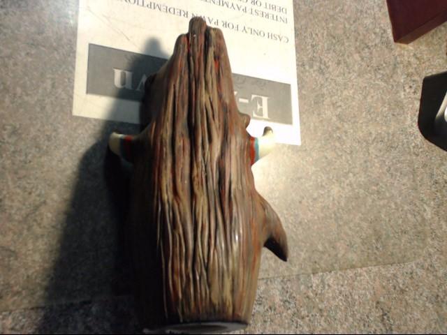 BUFFALO SPIRIT HAND PAINTED BUST