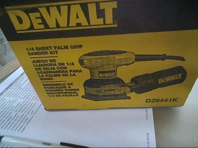 DEWALT Vibration Sander D26441