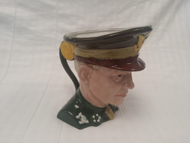 BARRINGTON TOBY JUG OF GENERAL DWIGHT D. EISENHOWER