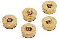 LUCKY SHOT Accessories 12GA BULLET MAGNET BRASS