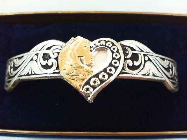 Silver Bracelet Silver Plate 10.7g