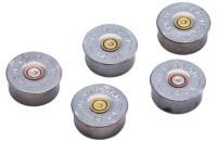 LUCKY SHOT Accessories 12GA BULLET MAGNET SILVER