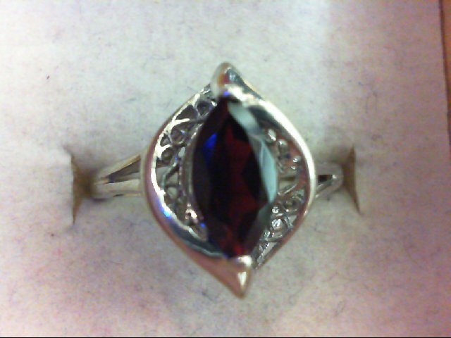 Lady's Silver Ring 925 Silver 2.6g Size:8