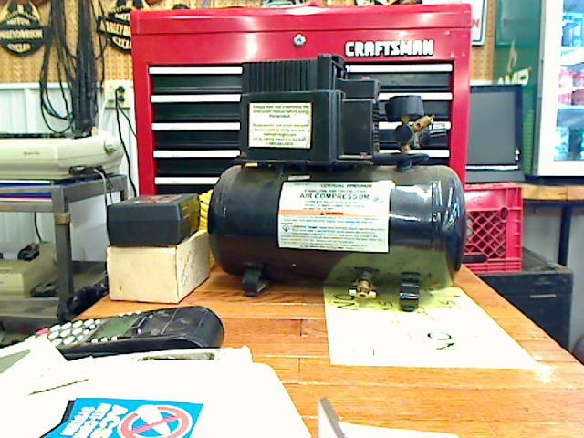 CENTRAL PNEUMATIC Air Compressor 47407