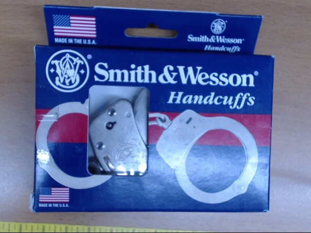 SMITH & WESSON 100-1 NICKEL