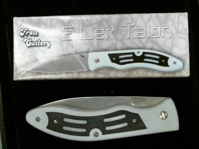 FROST CUTLERY Pocket Knife SILVER TALON