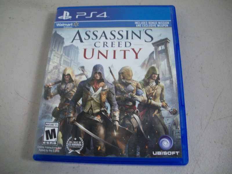 SONY PlayStation 4 ASSASSIN'S CREED UNITY PS4
