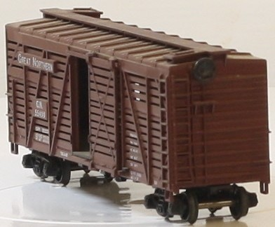 ATHEARN 1771 STOCK CAR GREAT NORTHERN #55400 FREIGHT BOX CAR HO