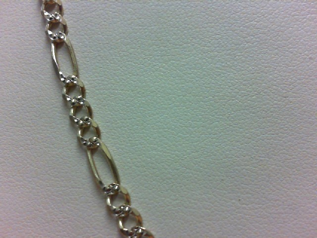 """20"""" Gold Figaro Chain 14K Yellow Gold 11g"""