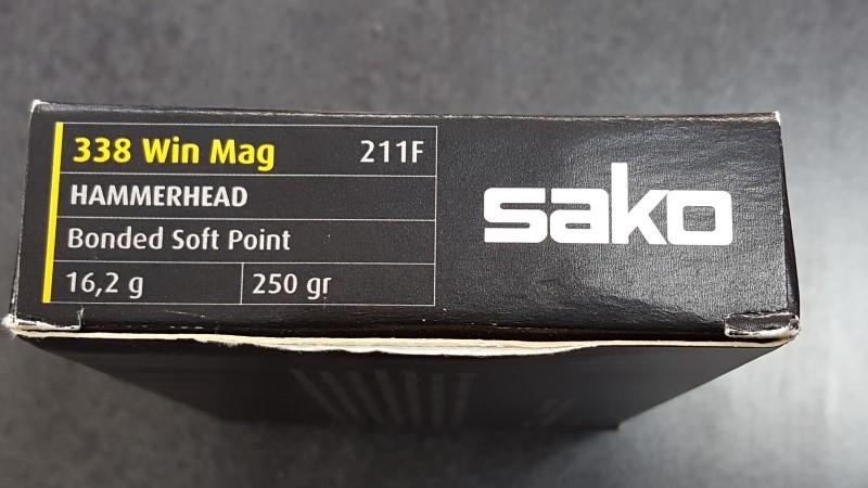 SAKO Ammunition HAMMERHEAD 338 Win Mag