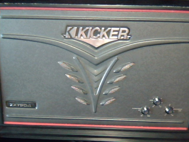 KICKER Car Amplifier ZX 750.1 AMP