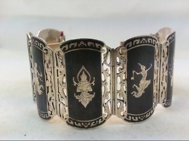 Silver Bracelet 925 Silver 79.6g