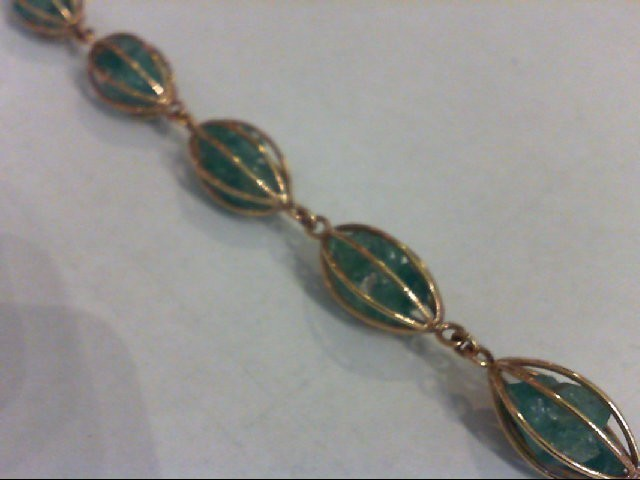Gold Fashion Bracelet 18K Yellow Gold 18.3g