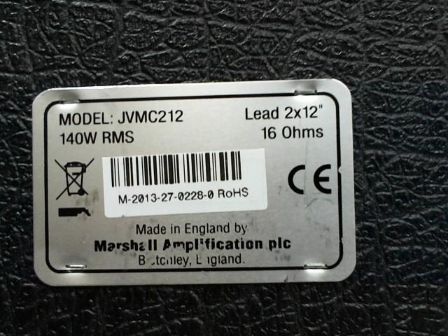 MARSHALL BRITISH SPEAKER CABINET JVMC212
