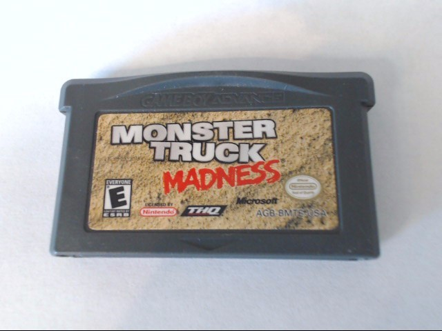 NINTENDO MONSTER TRUCK MADNESS ~ GAME BOY ADVANCE ~ Cartridge Only