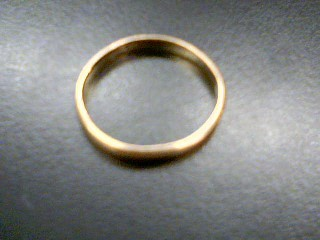 Gent's Gold Ring 14K Yellow Gold 1.9g Size:8