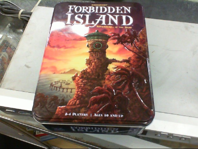 GAMEWRIGHT Game FORBIDDEN ISLAND