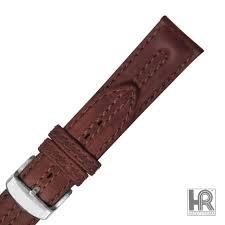 HADLEY ROMA Watch Band MS883 20R BRN