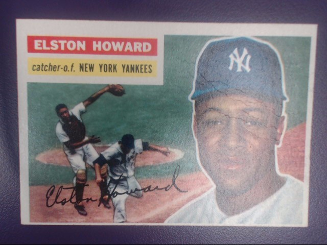 TOPPS ELSTON HOWARD CATCHER