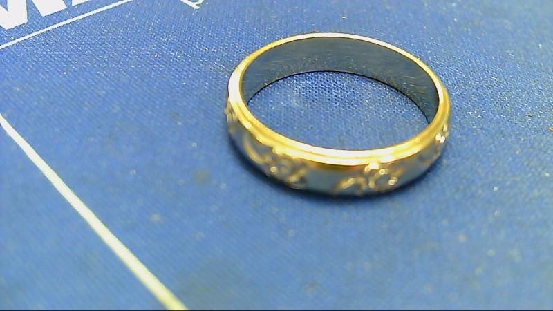Lady's Gold Ring 14K White Gold 4.5g