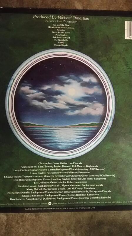 Christopher Cross Vinyl