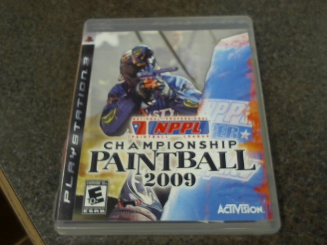 SONY Sony PlayStation 3 Game PS3 CHAMPIONSHIP PAINTBALL 2009