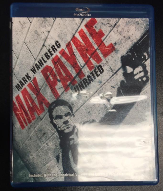 blu-ray movie max payne