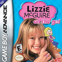 Nintendo Gameboy Advance GBA Lizzie Mcguire: On The Go!