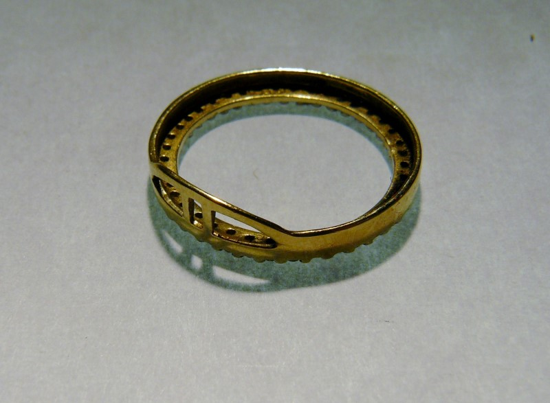 Gold-Multi-Diamond Pendant 40 Diamonds .40 Carat T.W. 10K Yellow Gold 0.9dwt