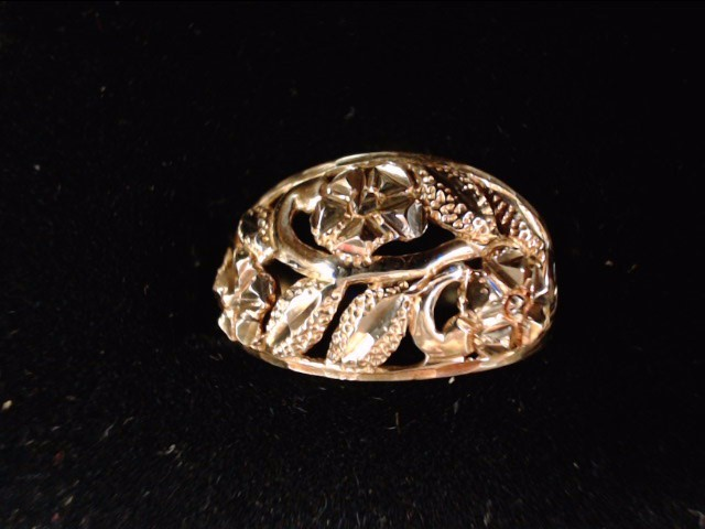 Lady's Gold Ring 10K Yellow Gold 2.8g Size:7