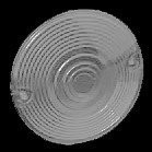 KURYAKYN 4997; PAIR SMOKE TURN SIGNAL LENS-86-08 FLHT/FLHR SEE BK
