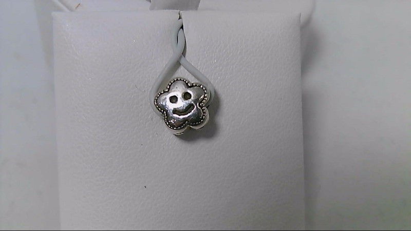 New Reflections Kids Smiling Flower Bead 925 Silver