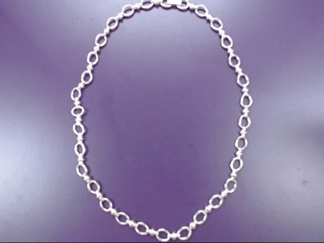 "18"" Silver Chain 925 Silver 27.1g"
